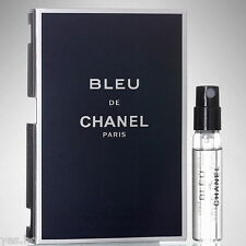 Bleu De Chanel Eau De Toilette Cologne Mens - 2ml Sample Vial Fragrance