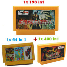 3pcs 8bit Game Card 60 pin game cartridge NES FC Game Player For TV Game Console