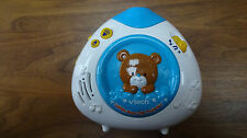 Vtech Baby Lullaby Bear Crib Projector Music Nature Sounds. NO STRAP. Clean. EUC