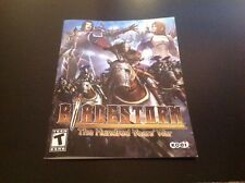 Instruction Book Manual for PlayStation 3 PS3 Bladestorm the Hundred Years War
