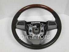 2010 2011 2012 CADILLAC SRX CTS COCOA STEERING WHEEL WOOD TRIM 25960211