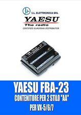 FBA-23 YAESU PACCO VUOTO ORIGINALE PER VX-5, VX-6, VX-7 100019