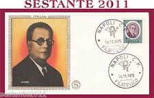 ITALIA FDC FILAGRANO 1975 FRANCO ALFANO ANNULLO NAPOLI G681