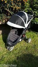Baby Jogger CITY MINI Black & silver grey Jogger Single pushchair quick fold