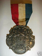 SOUVENIR MEDAL PHILIPPINE AMERICAN  WAR MANEUVERS WITH FAMILY HISTORY