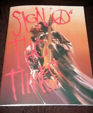 PRINCE SIGN ✌ THE TIMES JAPAN MOVIE THEATER ONLY LIMITED PROGRAM BOOK + BONUS FS