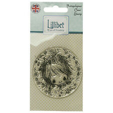 FACE CAMEO - Lillibet Collection Mini Clear Stamp - Trimcraft