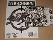 STRYCHNINE -Dead Rats And Oakland Dogs- LP mit Poster