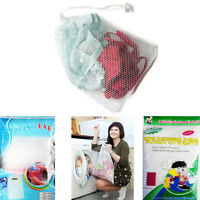 Netted Washing Mesh Bag Laundry Washing-Machine Bag Delicate Wash Safe Cleaner