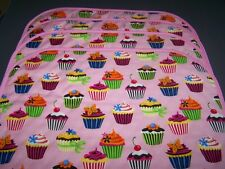 NEW Pink Cupcakes Quilted Placemats NEW