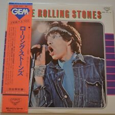 ROLLING STONES - GEM Greatest hits - 1974 JAPAN-ONLY 2LP