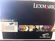 original Lexmark X642H31E X644h11E  Toner X644 646 X640 Schwarz  neu C