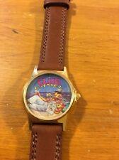 Club Camel Vintage Watch Brown Leather Mint Condition