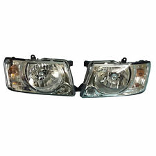 NISSAN PATROL WAGON GU Y61 SERIES III HEAD LAMP LIGHT SET PAIR 2004 - 2009