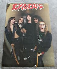 Exodus 1988 Tom Hunting Gary Holt Steve Souza Jack Gibson Lee Atlus Poster VGEX