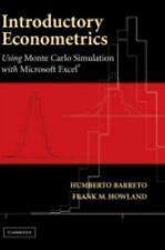 Introductory Econometrics: Using Monte Carlo Simulation with Microsoft Excel by