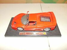MAISTO 1:18 SCALE Ferrari F50 1995 DIECAST RED CAR