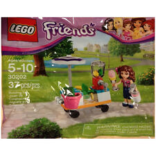 LEGO Friends SET 30202 Smoothie Stand mixer wagon umbrella apple money NEW!
