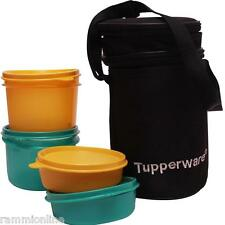 Tupperware Executive Lunch Box / Kit + Free Insulated Bag + Set of 4 + Brand New