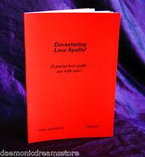 DEVASTATING LOVE SPELLS  Finbarr Occult. Magick Grimoire. Witchcraft. Magic