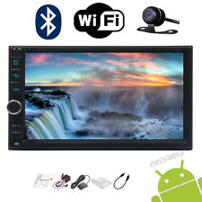 """Android 5.1 7"""" Touch Screen Car GPS Navi 2Din Player Stereo Wifi Freecam&ship"""