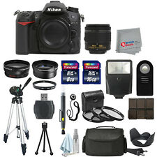 Nikon D7100 Digital SLR Camera Body + 3 Lens 18-55mm VR + All You Need Kit