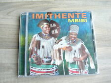 world CD africa ZULU MUSIC maskandi IMITHENTE Mbibi 2011 maskanda jive