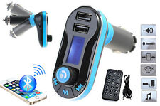 Handsfree LCD MP3 Player FM Transmitter Wireless Bluetooth Car Kit USB/SD