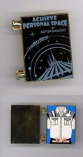 Disney Tomorrowland Space Mountain Personal Space Cover Cast Costume Hinged Pin