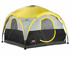 Coleman 2-for-1 All Day 4 Person Camping Dome Shelter Tent w/ Canopy | 10'