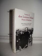 LIBRO Lettere di DON LORENZO MILANI Priore di Barbiana Nuova ed.Lettere inedite