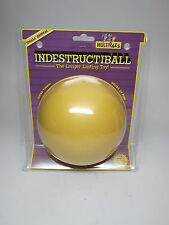 Indestructiball Multipalz Small Animal Ball Yellow Ferrets Floats Tough Toy