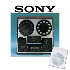 SONY TC-377 TAPE RECORDER MANUALS on CD TC377 SERVICE and USER MANUAL