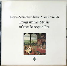 PROGRAMME MUSIC OF THE BAROQUE-M1969?LP DAS ALTE WERK NIKOLAUS HARNONCOURT