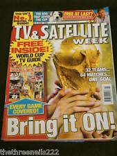 TV & SATELLITE WEEK - WORLD CUP - JUNE 3 2006