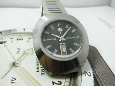 Vintage Rado Diastar Case Silver Tungsten Automatic Gent 2.