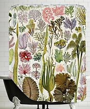 "American Flat ""Algues Vintage Art Print"" Shower Curtain by Samantha Ranlet, 71"""