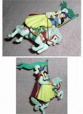 Snow White & the 7 Dwarfs -  & Prince Carousel Figurine Ornament