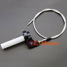 7/8'' Quarter Turn Quick Twist Throttle Housing Grip With Throttle Cable