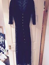 Black Forever 21 Floor Length Dress