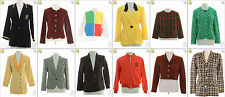 "JOB LOT OF 22 VINTAGE WOMEN""S JACKETS- Mix of Era's, styles and sizes (18092)*"