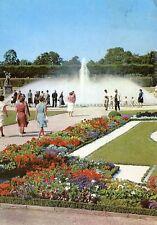 """Alte Postkarte - Hannover - Die """"Glockenfontäne"""" im Großen Garten"""