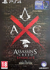 Assassin's Creed: Syndicate - Rooks Edition (Sony PlayStation 4, 2015)