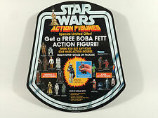 "reproduction star wars prototype 12"" boba fett figure shop / store bell display"