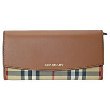 Burberry Porter Continental Wallet - Tan