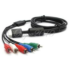 2M HD COMPONENT RGB AV AUDIO VIDEO CAVO HDTV LEAD PER SONY PLAYSTATION PS2 PS3