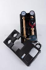 """Pumpengruppe DN25, 1"""" mit Mischer und Mischermotor, mit Grundfos Alpha2L  25-60"""