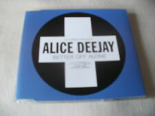 ALICE DEEJAY - BETTER OFF ALONE - POSITIVA TRANCE CD SINGLE