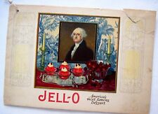 """Delightful 1926 """"Jell-O"""" Booklet w/ Menus and Recipes - International Theme *"""