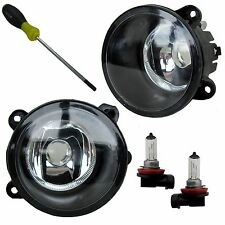 PAIR of Front Bumper Fog Lamp light for Land Rover Discovery 3 XBJ000080/90 spot